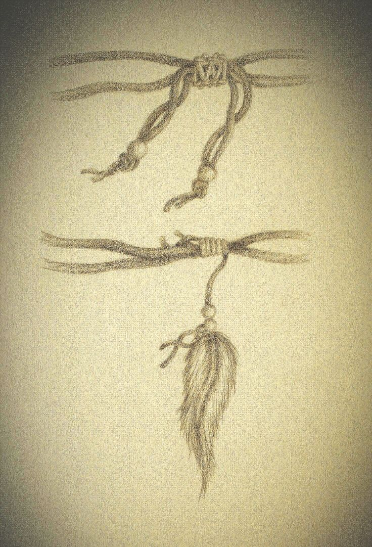tattoos of string bracelets my attempt of a feather bracelet tattoo idea tattoo idea. Black Bedroom Furniture Sets. Home Design Ideas