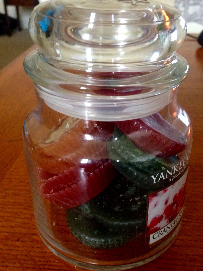 Job done , clean out jar with really hot soapy water dry and leave to cool  then  put homemade wax melts back in for storage