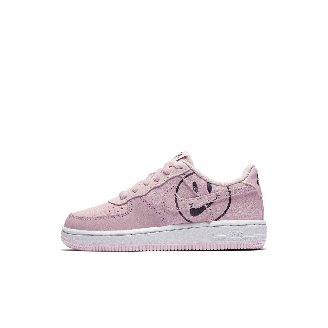 Nike Force 1 LV8 2 Little Kids' Shoe Size 13C (Pink Foam