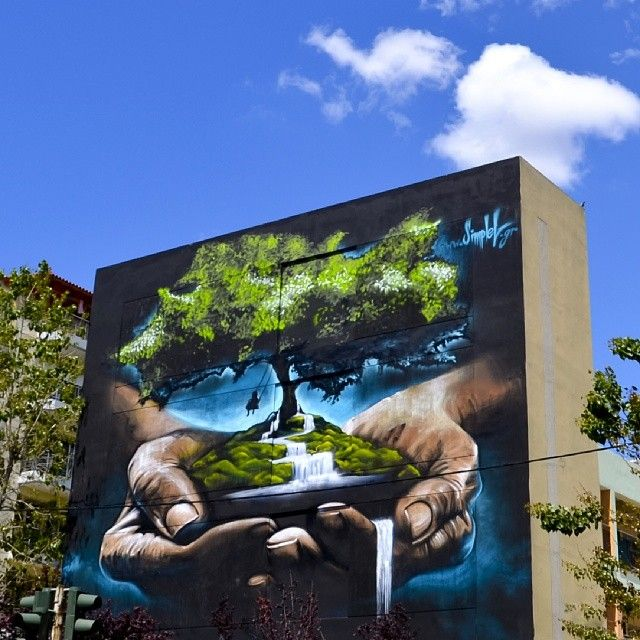 by simple g: 'Save your future': Athens, Greece 2014. Save our planet.