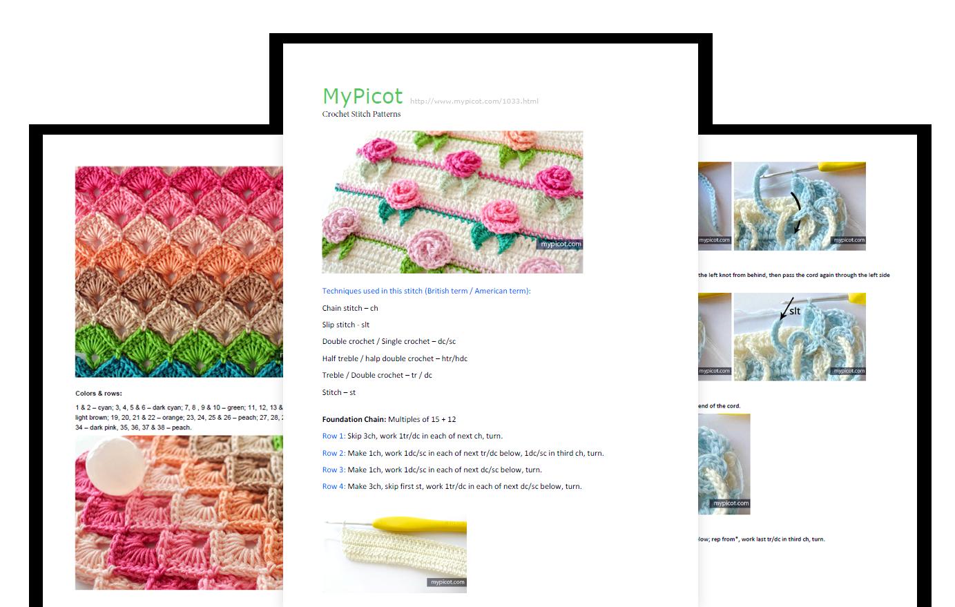 Image description   crochet ltems   Pinterest   Ganchillo, Puntadas ...