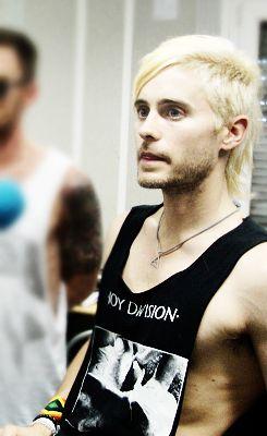 16+ Jared leto blonde information