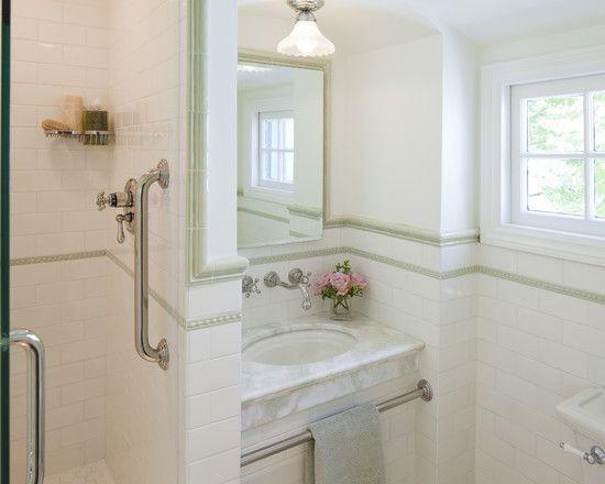 jack and jill bath  traditional bathroom traditional