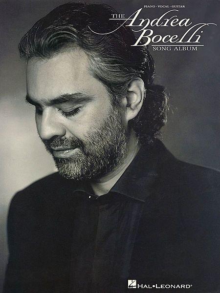 The Andrea Bocelli Song Album Sheet Music By Andrea Bocelli Sku