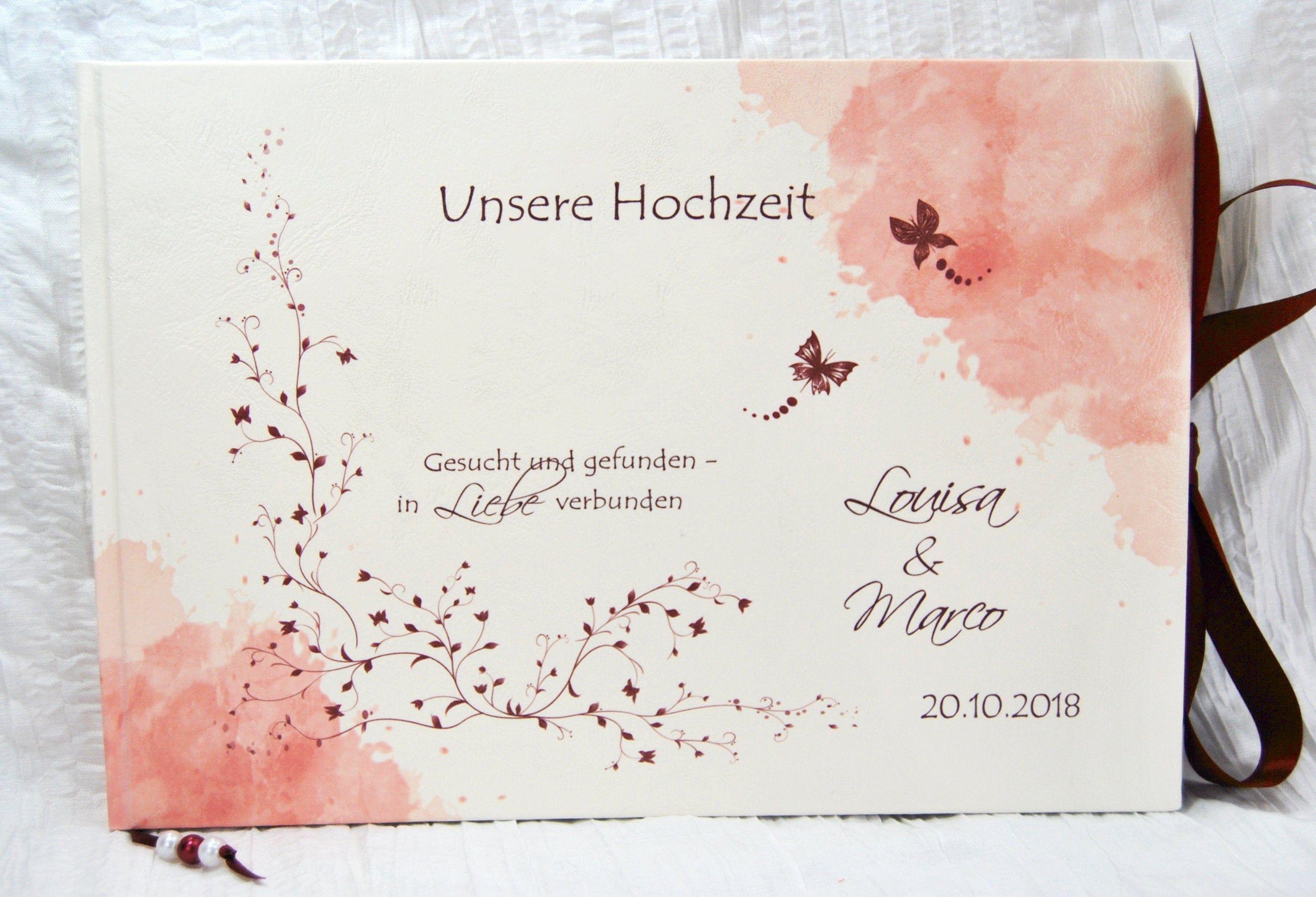 Gastebuch Hochzeit Mit Fragen Fragebogen Rosen Schmetterling Bordeaux Weinrot Rot Hochzeitsgastebuch Personalisiert Name Hochzeitsgeschenk