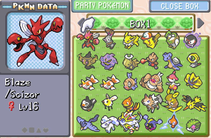 Pokemons I Caught In Pokemon The Last Fire Red Pokemon Firered Pokemon Red Fire