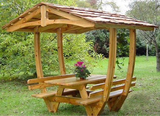Muebles de madera integrales idea para jardin en 2019 - Muebles de jardin de madera ...