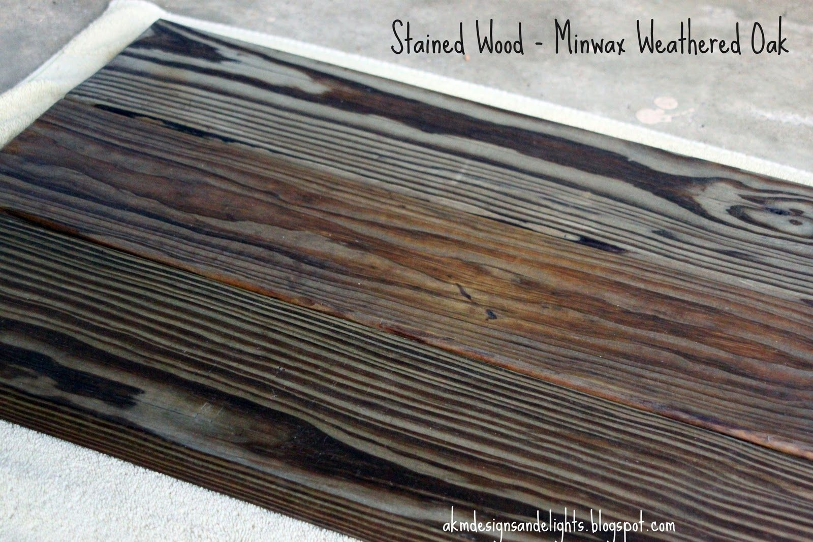 Product Love Minwax Wood Stain In Weathered Oak