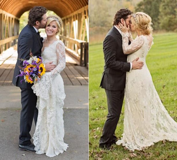 Kelly Clarkson marries her talent manager fiancé Brandon ...