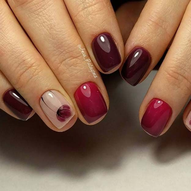 Easy Nail Art Designs Magical Red Step By Step Simple Tutorials