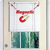 Full Door Magnetic Blinds By Msr Imports 34 99 Simply Pull Blind Up To Let The Light In Attractive And Easy To Install In Metal Door Magnetic Blinds Blinds