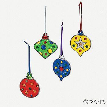 Christmas Ornament Suncatchers (3's/4's)