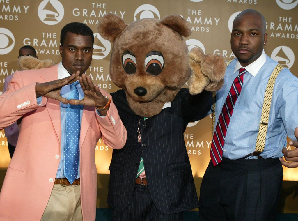 Flashback 29 Photos Of Celebs In Early 2000s Grammys Fashion Grammy Kanye West Show 2000s