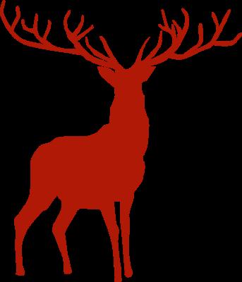 Beautiful Reindeer Silhouette Free Clip Arts Online Fotor Reindeer Silhouette Silhouette Stencil Santa Sleigh Silhouette