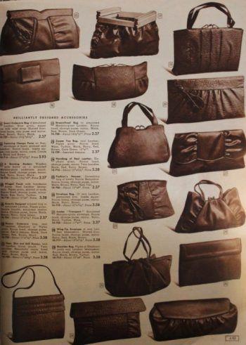 e6c8b80f7b 1940s handbags. 1943 plain leather handbags