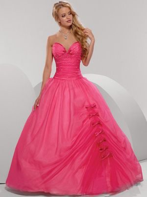 Princess gowns | pink princess prom dresses | Prom 2K15 | Pinterest ...