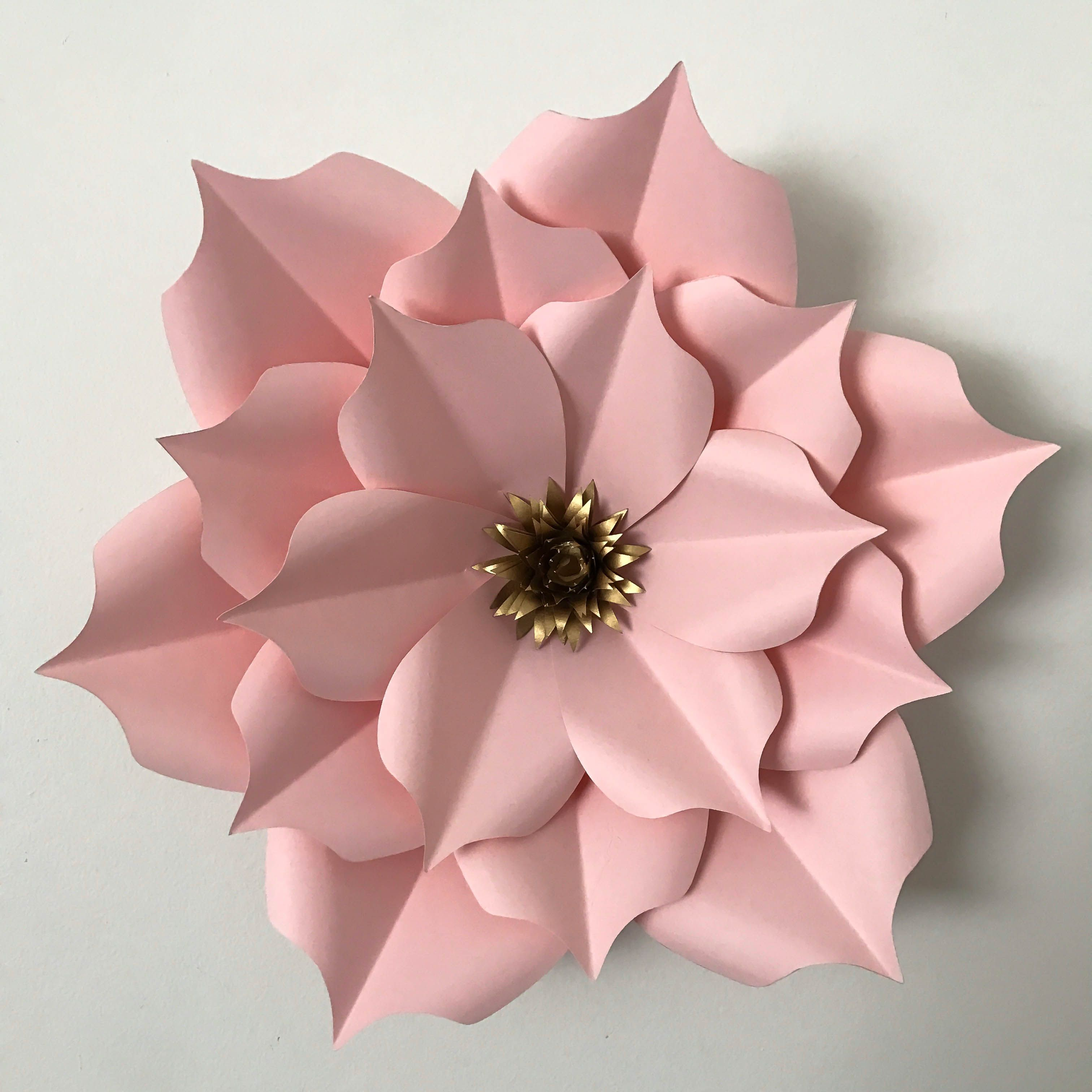 Pin On Diy Giant Paper Flower Templates Etsy Listing