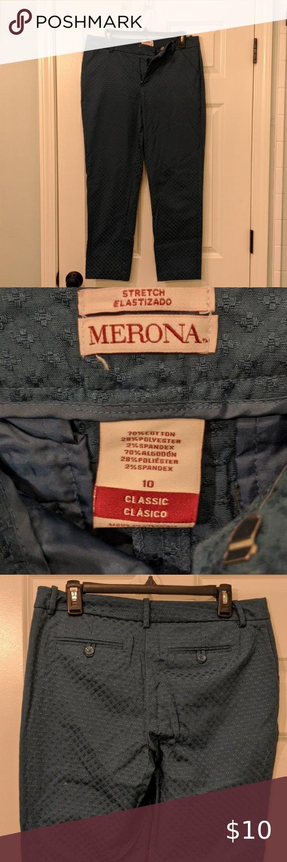 Merona Target Pants Casual Dress Pants Dress Slacks For Women Black Khaki Pants [ 1740 x 580 Pixel ]