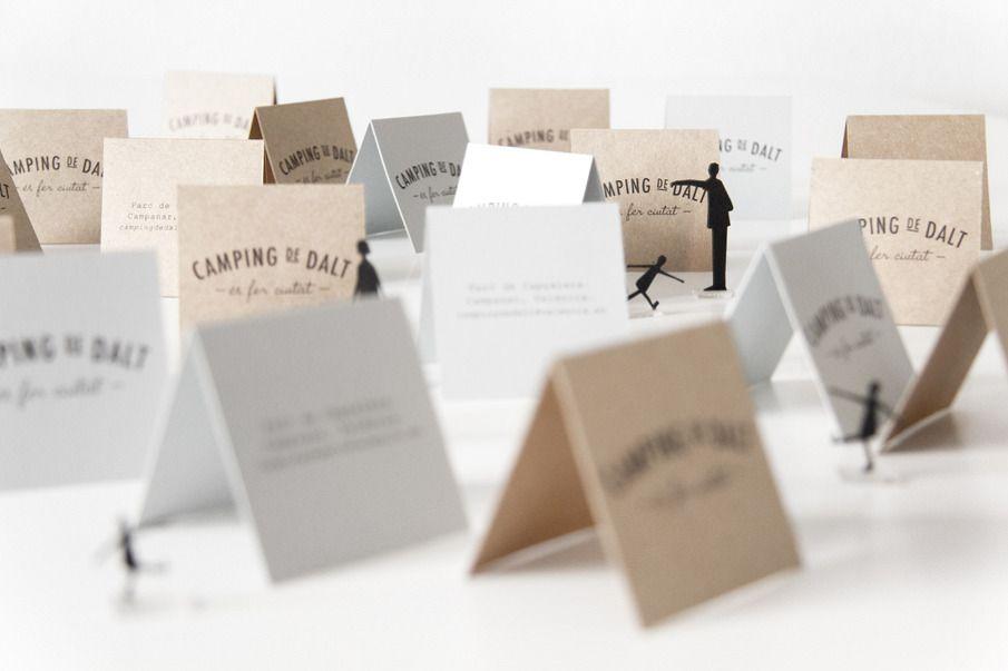 Camping de Dalt - \'tent\' business cards! / by La Buhardi | c%l ...