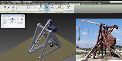 Trebuchet science project with Autodesk software integration ...