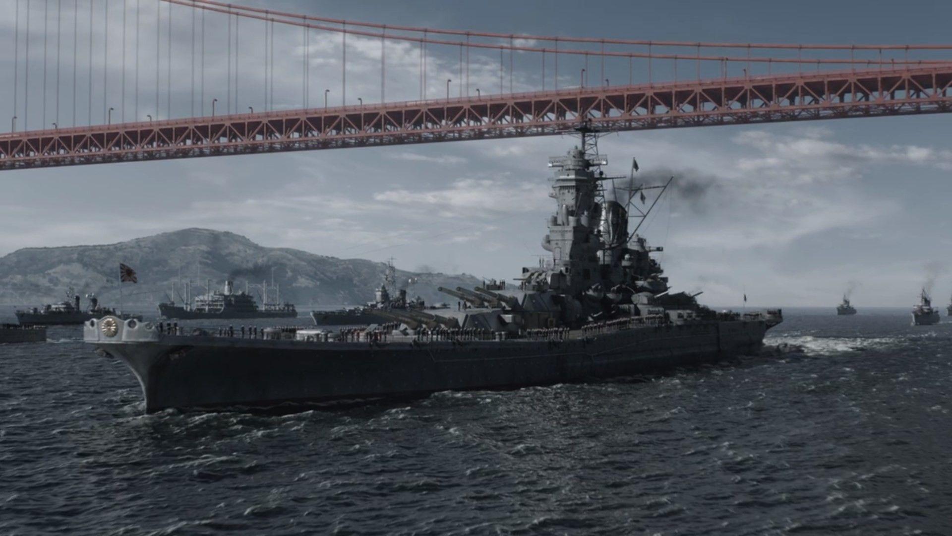 Artstation Man In The High Castle Season 3 Episodes 1 3 Ben Mcdougal Battleship Yamato Highcastle 37t High Castle Castle Season Yamato Class Battleship