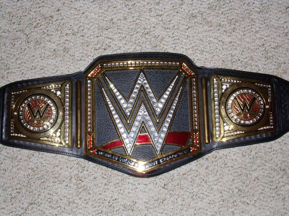 Authentic Adult WWF REAL Raw // Smackdown WWE Championship Title Belt