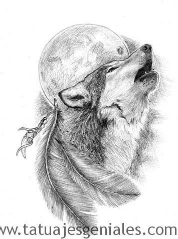 Súper galería de imágenes de Tatuajes de Lobos para inspirarte