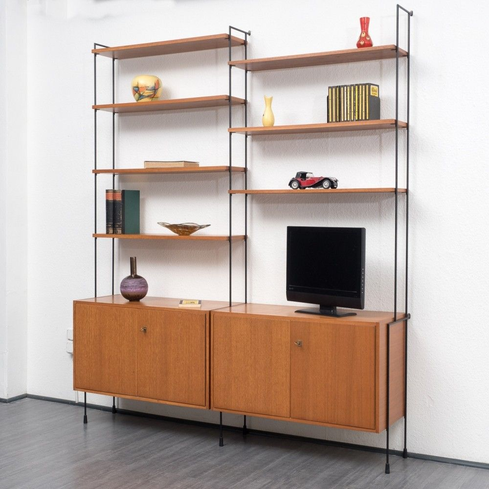 Omnia Wall Unit From The Sixties By Unknown Designer For Hilker
