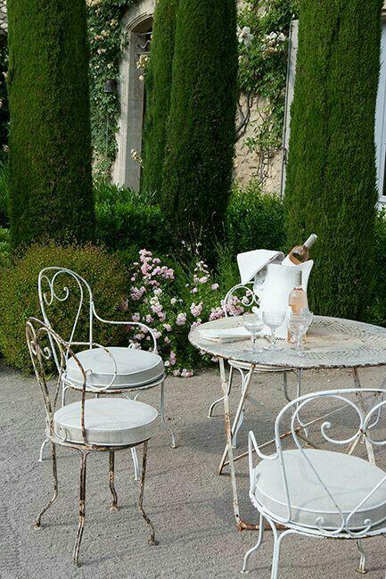 Provence Bastide Jardin Romantique Jardins