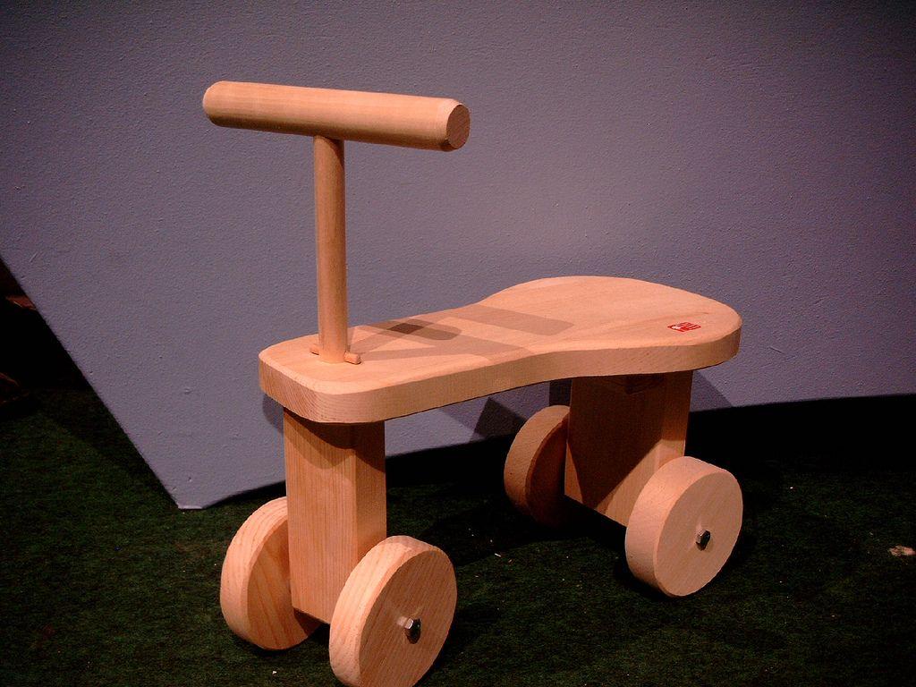 Wooden Ride On Toy.  d0af645101