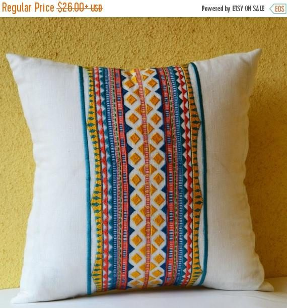 Off Sale Aztec Pillow Cover Aztec Throw