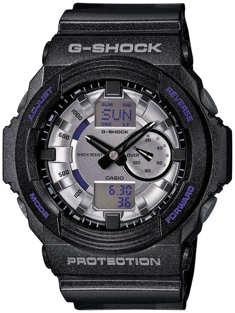 #GShock GA-150MF-8A #Watch in Black w/Silver Face $139.99