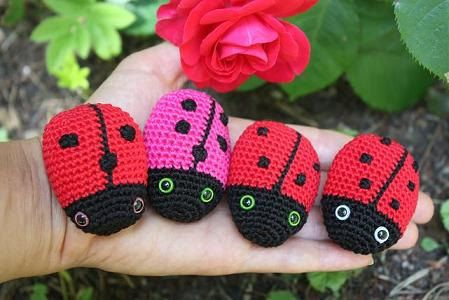 PATTERN - Amigurumi Ladybug Crochet Pdf Tutorial- Digital Download ...