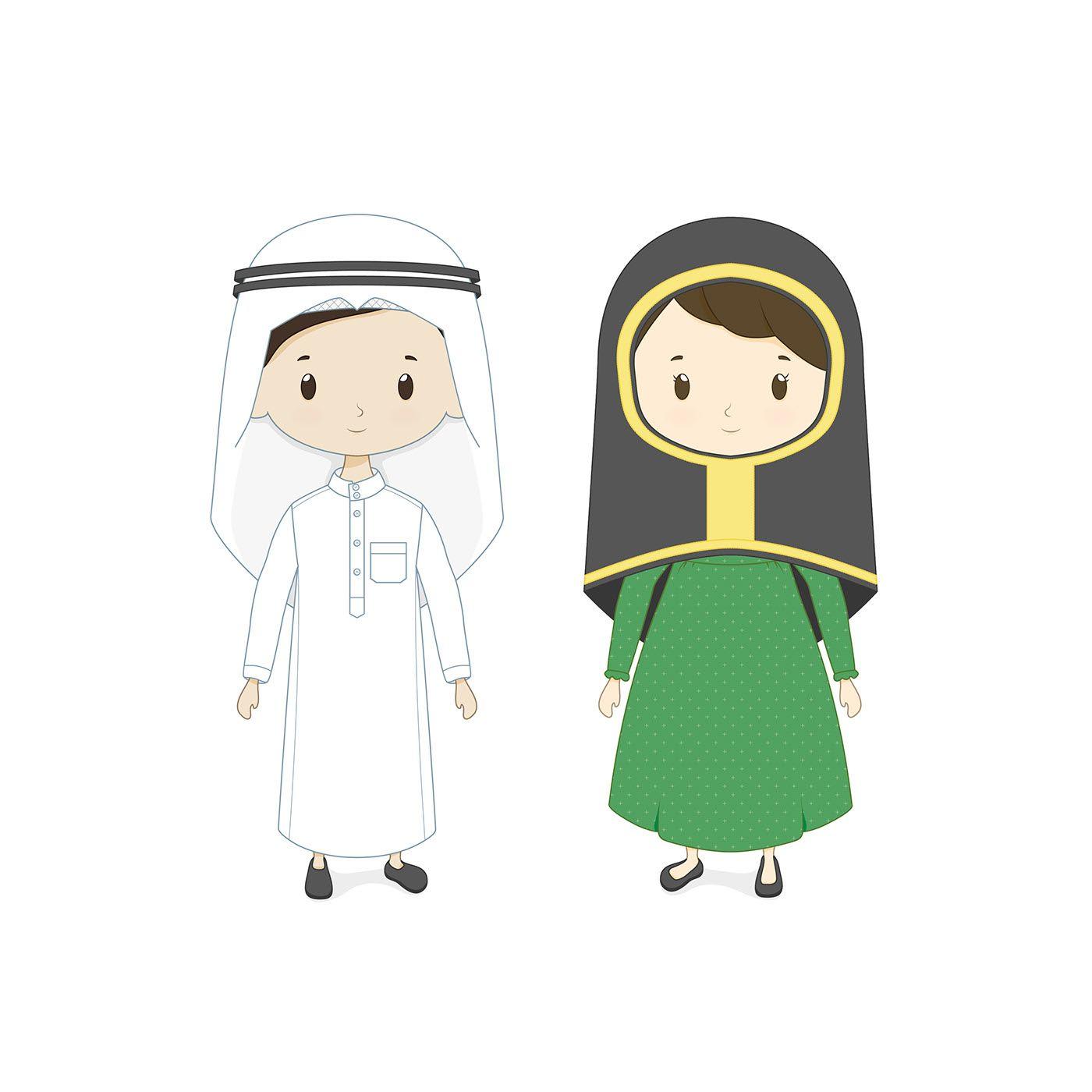 تصميم شخصيات مدارس ريانة الشرقية On Behance Eid Photos Eid Crafts Ramadan Crafts