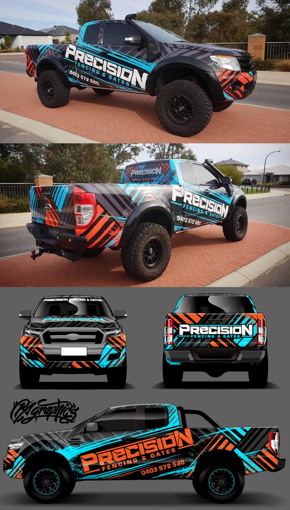 Ra Graphic Pack 14 Vehicle Signage Car Wrap Design Truck Wraps Graphics