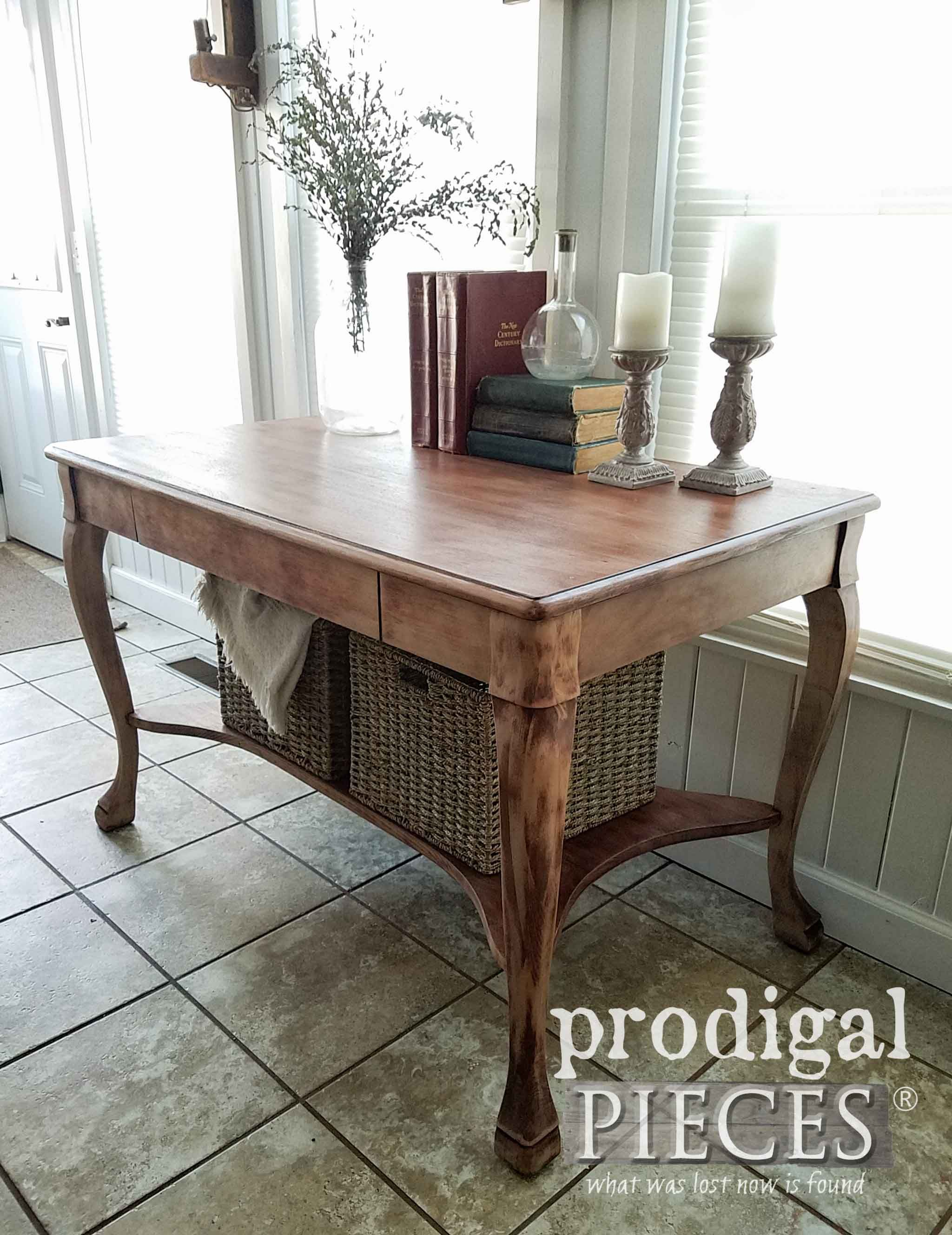 Antique Library Table With Fresh New Look Library Table