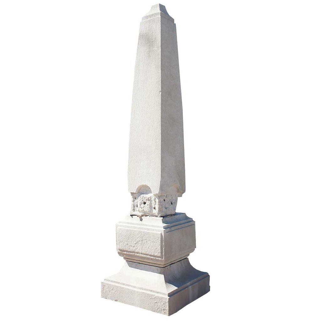obelisk furniture. American Neoclassical Chicago Limestone Architectural Obelisk | From A Unique Collection Of Antique And Modern Furniture