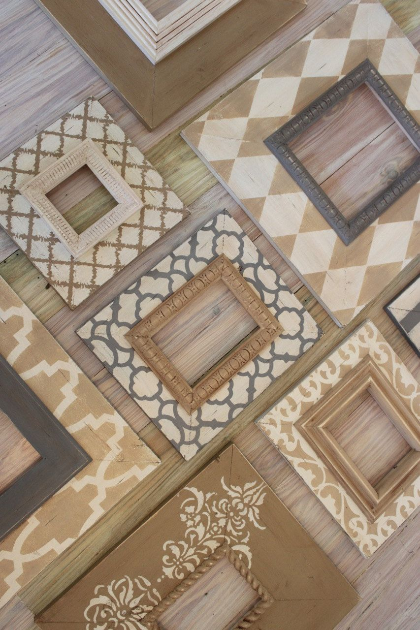 Distressed Picture Frames | Frames | Pinterest | Marcos, Cuadro y ...