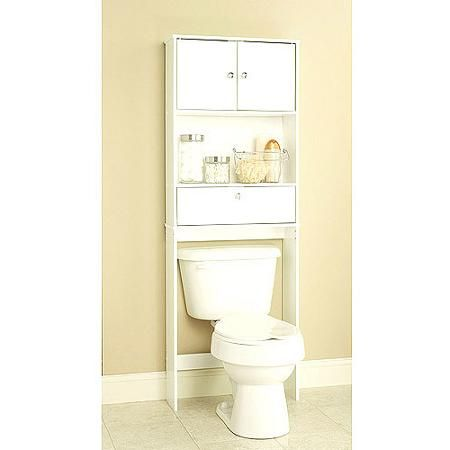 White Spacesaver With Cabinet And Drop Door Walmart Com With