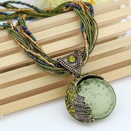 Reiki Ball Pendant Necklace
