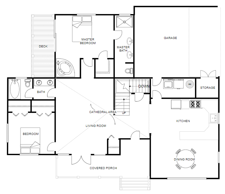 Floor Plan Creator And Designer Free Online Floor Plan App In 2020