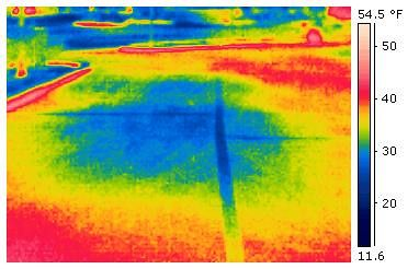 Use Of Infrared To Detect Underground And Concrete Water Leaks In 2020 Underground Leaks Water