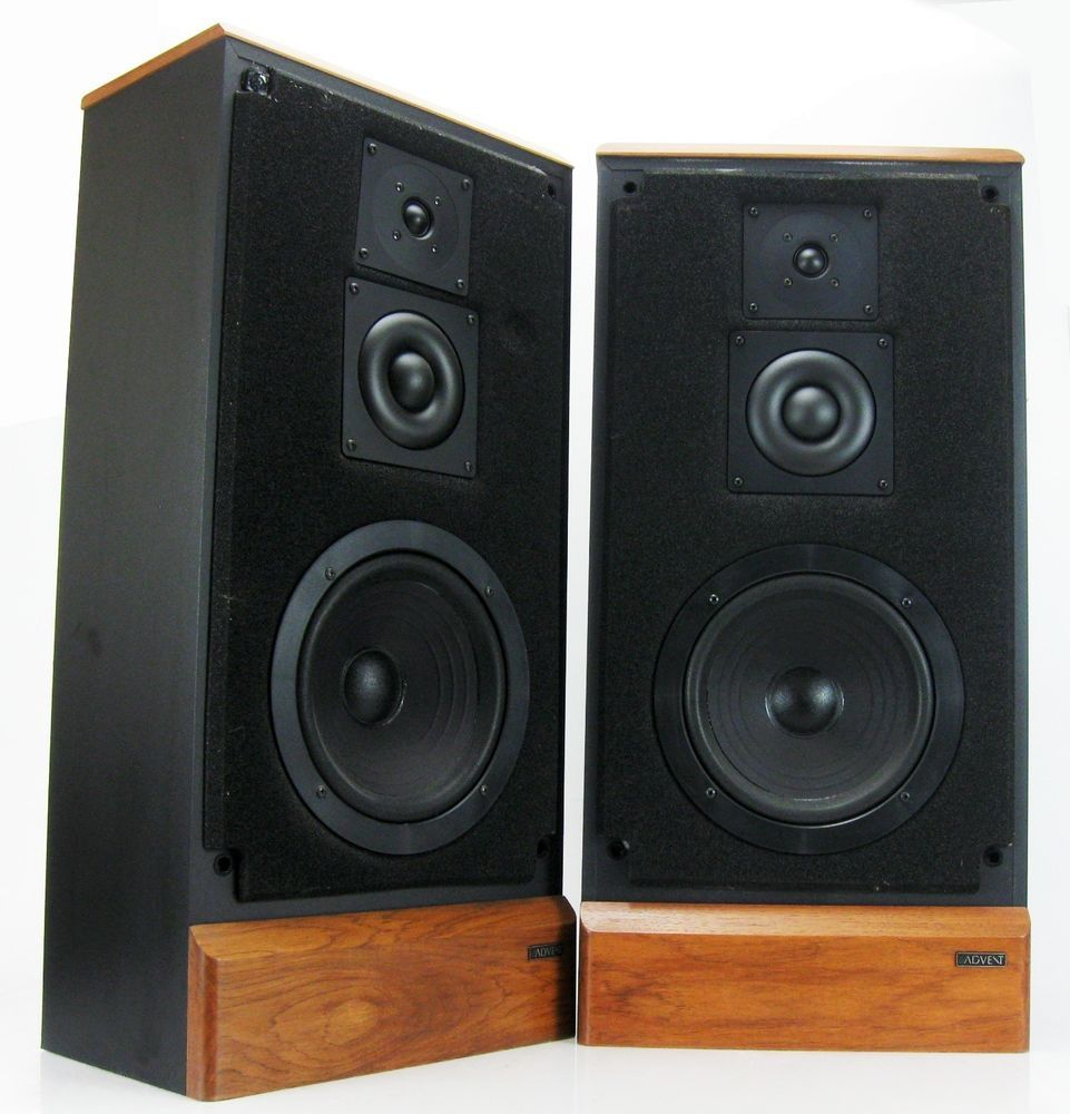 advent maestro 3 way floor speakers dome midrange. Black Bedroom Furniture Sets. Home Design Ideas