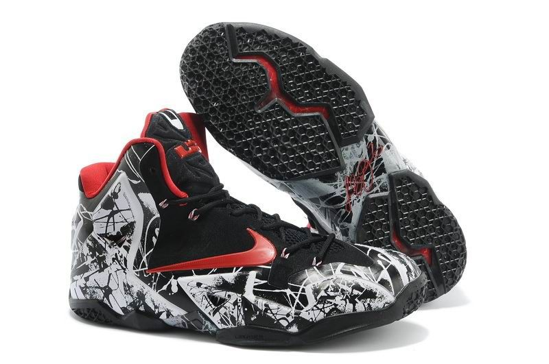1a27d740864 Cheap Lebron 11 For Kids Red Black White