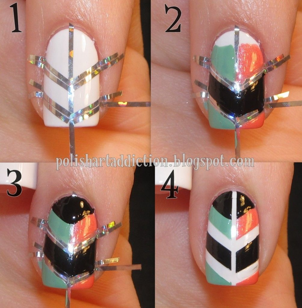12 Amazing DIY Nail Art Designs - Nagel, Pijlen en Nagellak