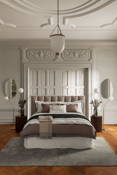 Photo of Wool Throw – Light beige/light gray – Home All   H&M US