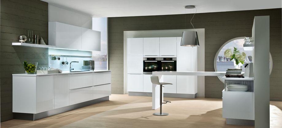 Hacker kitchen in white a very popular finish Hacker Kitchens - u küchen bilder