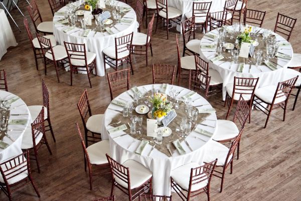 Handmade Library Philadelphia Wedding. Burlap Table ClothsTable ...