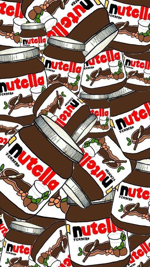 background, cute, food, life, love nutella, nutella, omg, wallpaper