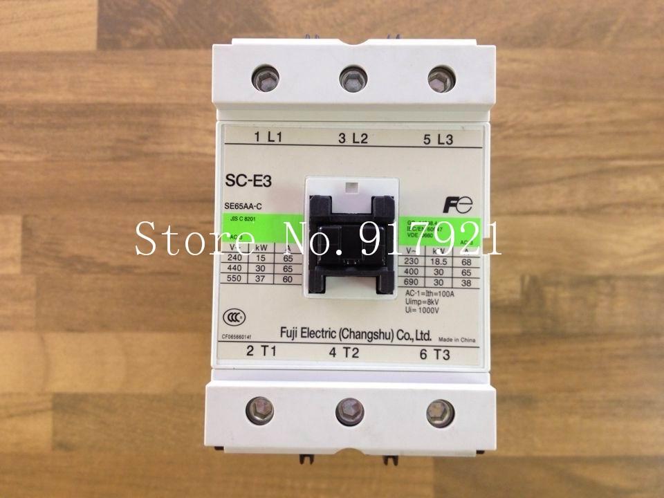 91.30$  Buy here - http://ali01u.shopchina.info/1/go.php?t=32620002401 - [ZOB] Fuji SC-E3 220VAC 100A genuine original AC contactor  #magazineonlinebeautiful